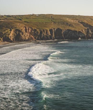 La baie des Trépassés, entre spot de surf et excursion iodée