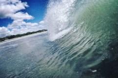 Une vague au Nicaragua