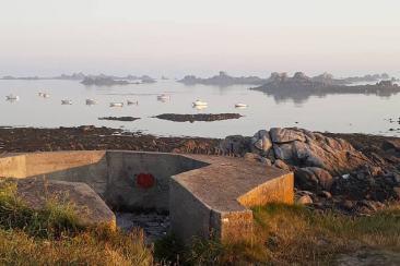 Se réveiller au bord de l'eau en Bretagne