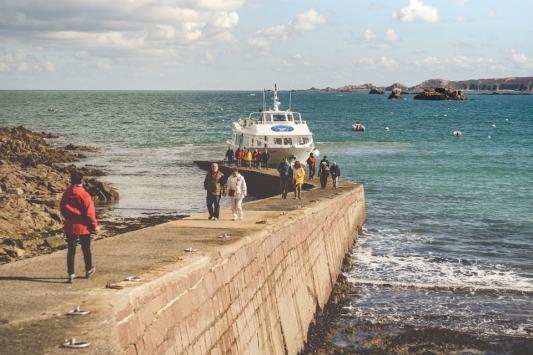 Prendre une vedette à Perros-Guirec (22), direction les 7 îles et son archipel