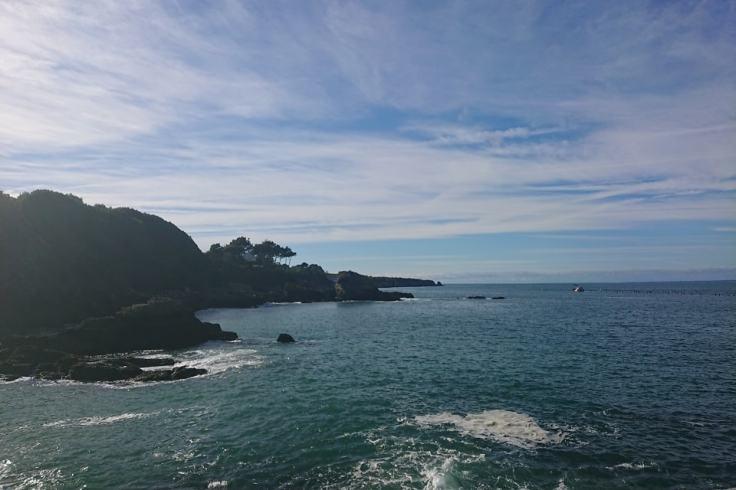 La côte sauvage de l'île de Groix