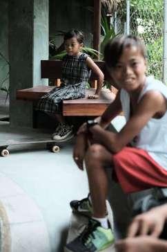 Session de skate aux Philippines