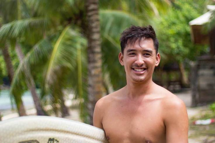 Chris co-founder be siargao
