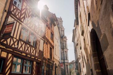 Visiter le centre historique de Rennes