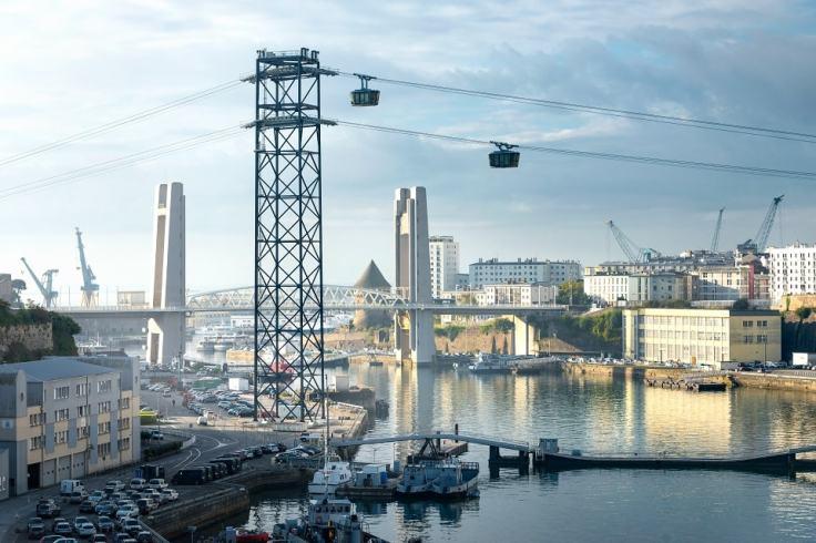 Prendre le téléphérique à Brest