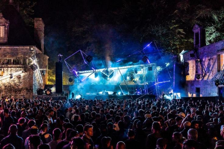 Ambiance explosive et lumineuse au festival Astropolis