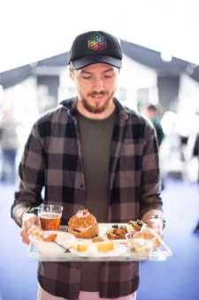 Plat très gourmand au Festival Rock'n Toques de Saint-Brieuc