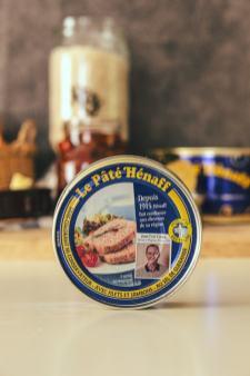 Boîte de conserve pâté Hénaff