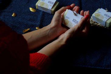Packaging des savons Eïos Marine