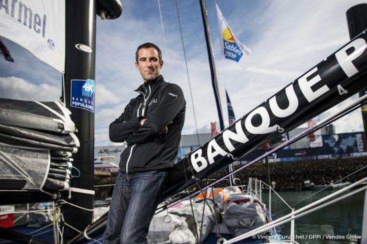 Photo du skipper Armel le Cléac'h au Vendée Globe