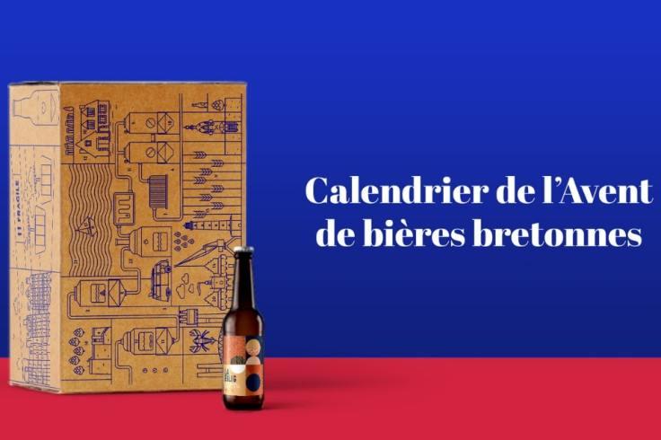 Visuel du calendrier de l'avent 2019 Penn ar Box