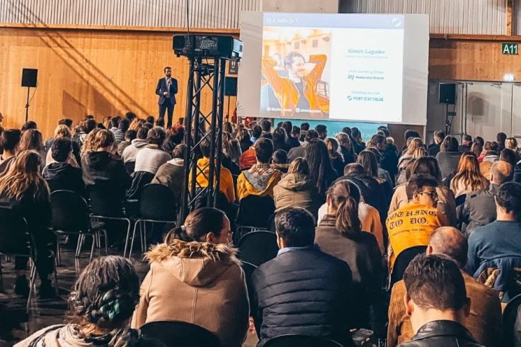 Conférence de Simon Lagadec lors de l'événement Digital Inspirationnel à Quimper