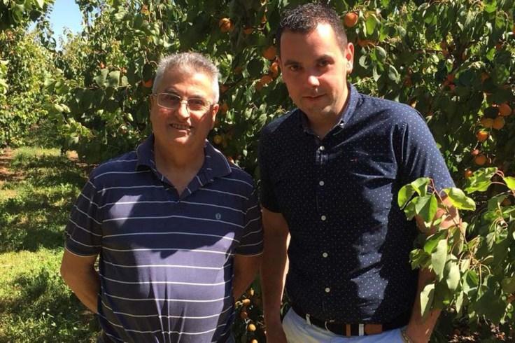 Nicolas et son père Hyacinthe