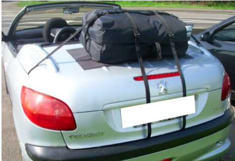 Porte Bagage Peugeot 206cc