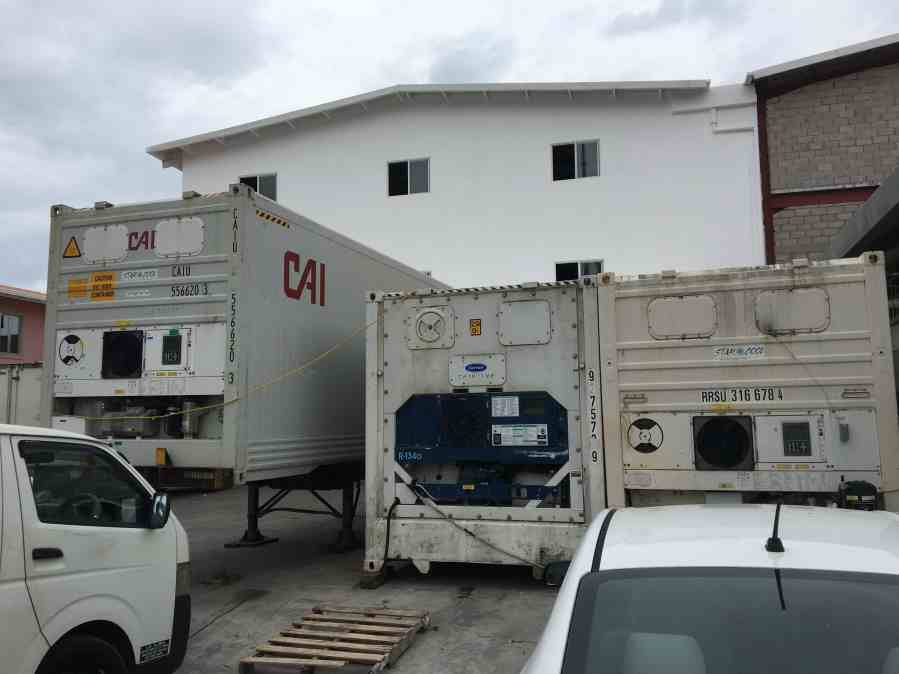 Reefers Used for Temporary Cold Chain Storage