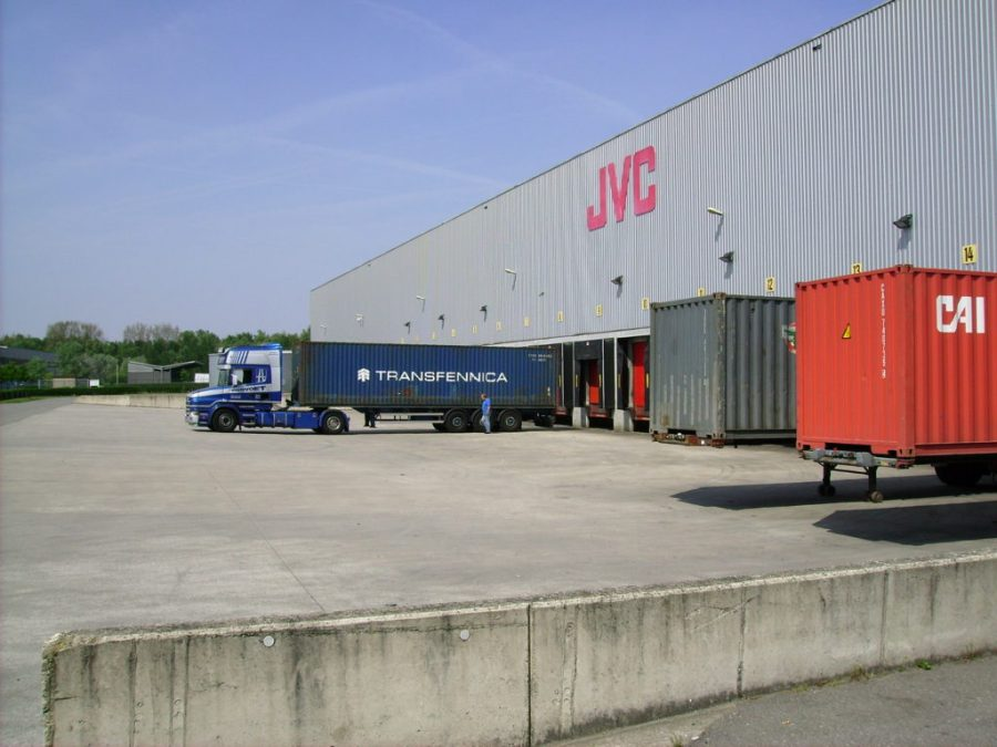 Extended Distribution Center System of JVC Belgium