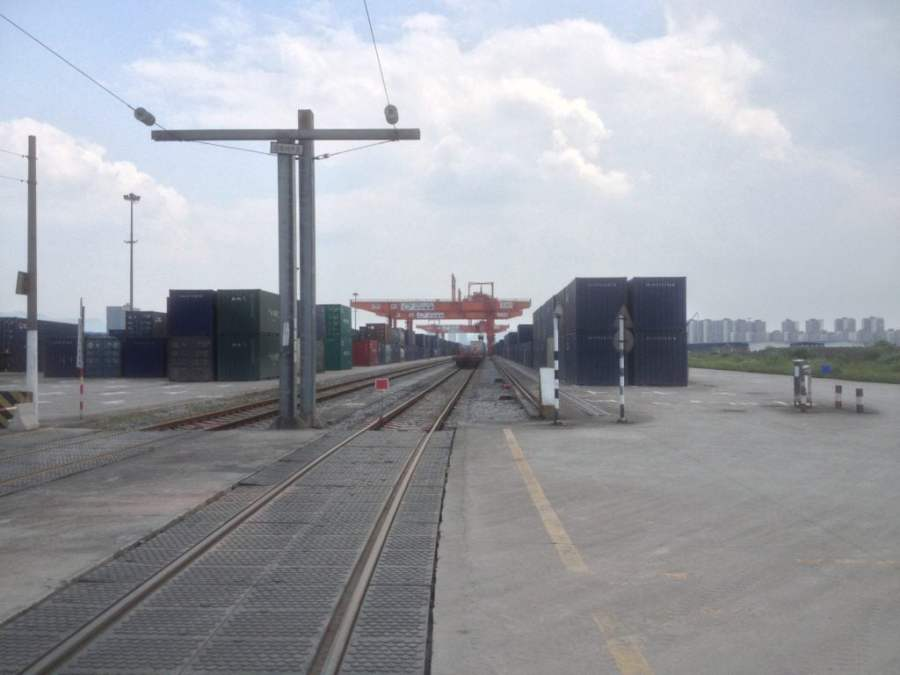 CRIntermodal Chongqing Terminal