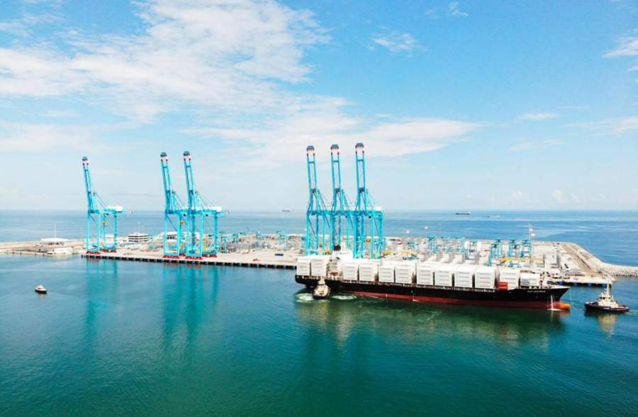 The Limon Moin Container Terminal, Costa Rica