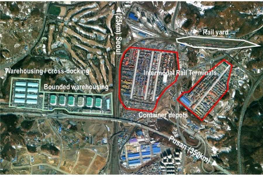 Uiwang Inland Port, South Korea