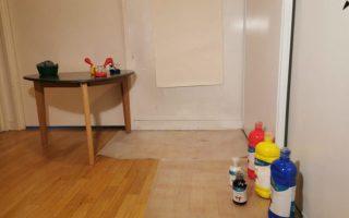 Comment fabriquer un chevalet et faire un atelier peinture pour enfant?