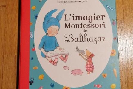 L'imagier de Balthazar pour enfant.
