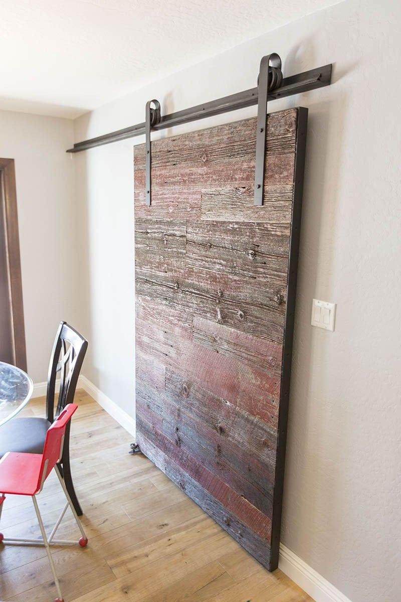 RedGrey Hemlock Modern Contemporary Sliding Barn Door