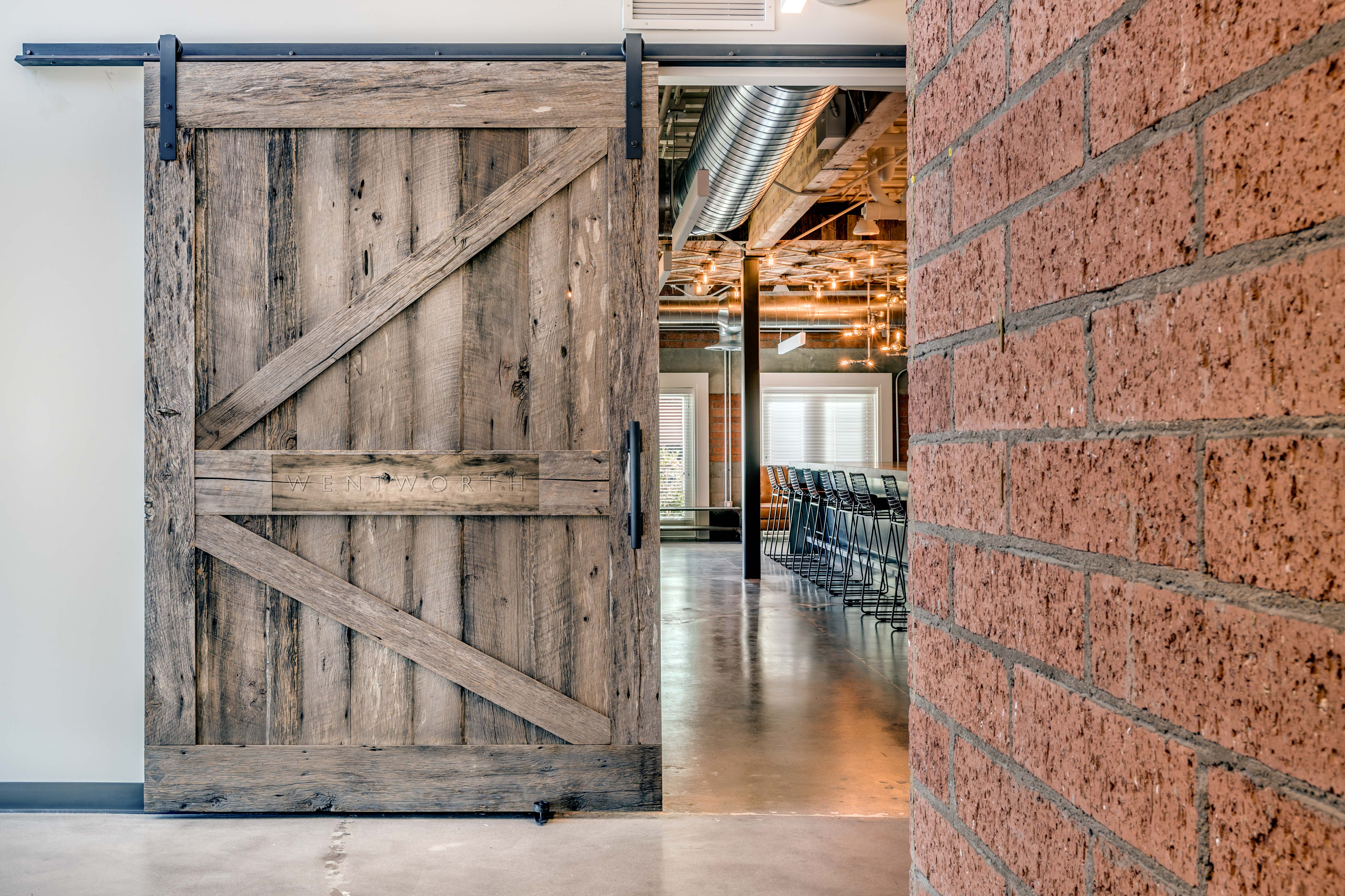 Wentworth Office Porter Barn Wood