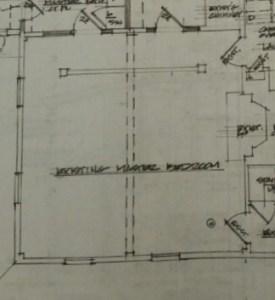 Floor-plan of Master Bedroom