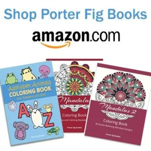 Porter Fig Books available on Amazon