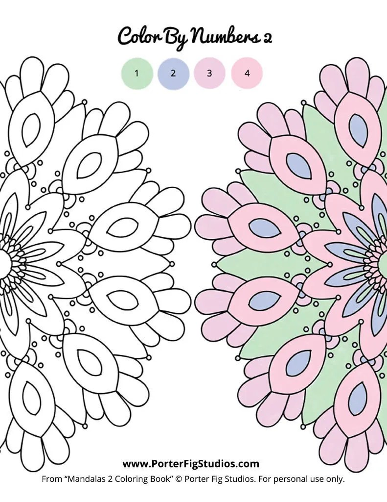 free mandala coloring page 2 by porter fig