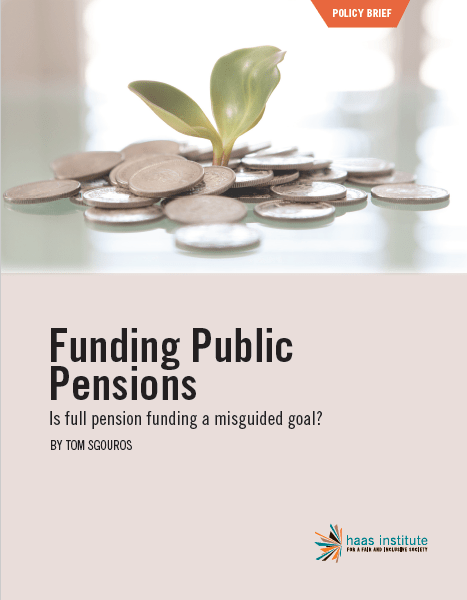 """Funding Public Pensions"" cover"