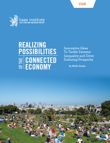 """Realizing Possibilities of the Connected Economy"" cover."