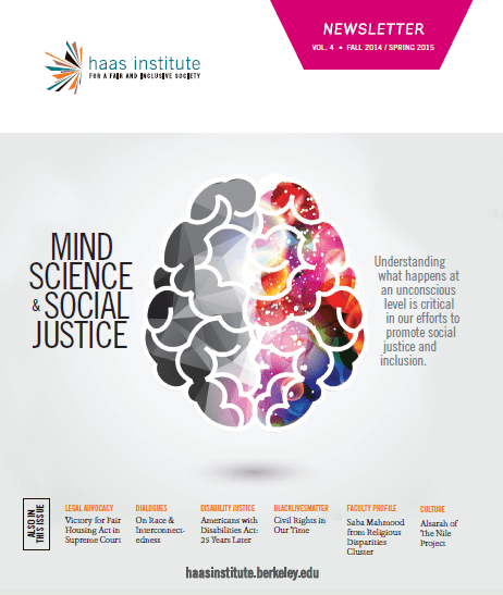 Mind Science & Social Justice Newsletter Cover