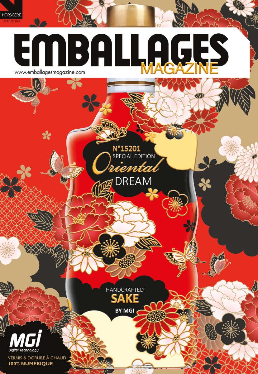 couverture pour magazine