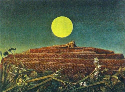 Max Ernst - La ville entière - peinture originale