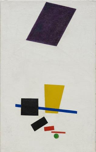 Malevitch - peinture originale