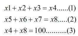 mathematical constraints
