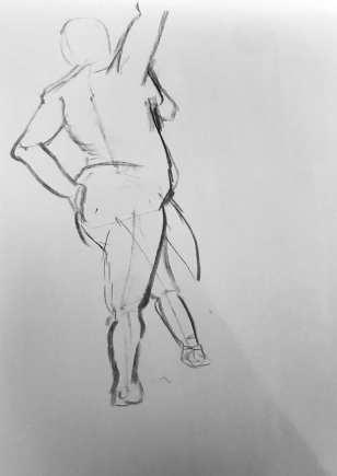 Gesture Drawing 3 (2m, 9/25)