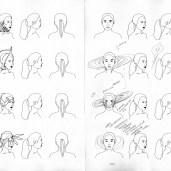 More design ideas in sketchbook