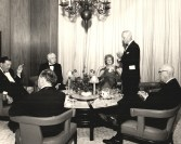 Upon her retirement from the Port Authority in 1965, Jaffe was surprised to receive the agency's Distinguished Service Medal during what she believed initally was a dinner meeting with Board Commissioners