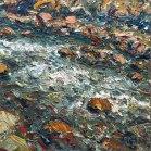 Danse la rivière - 24x24