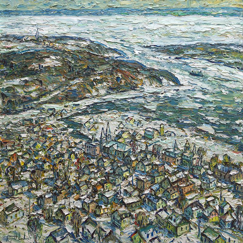 Baie-Saint-Paul 36x36