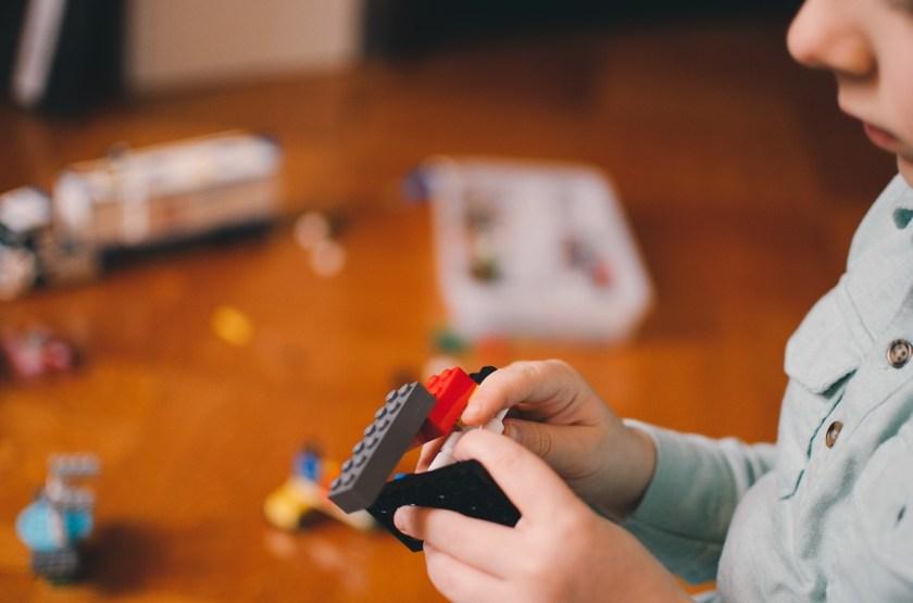 Lego-kid