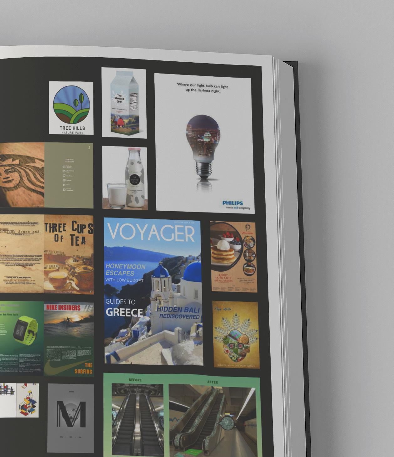 inside portfolio book