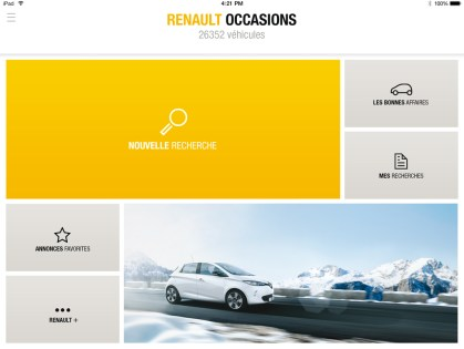 Renault occasion (tab)