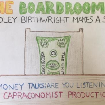 REVIEWS: The Boardroom: Bradley Birthwright Makes A Scene