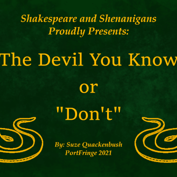 """REVIEWS: The Devil You Know, or """"Don't"""""""