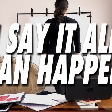 REVIEWS – I SAY IT ALL CAN HAPPEN