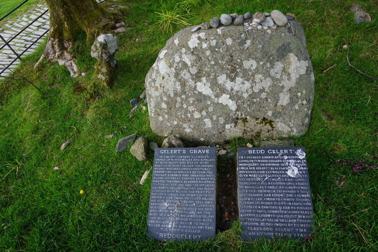 Gelert's Grave at Beddgelert