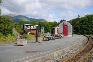 Welsh Highland Railway Station at Beddgelert